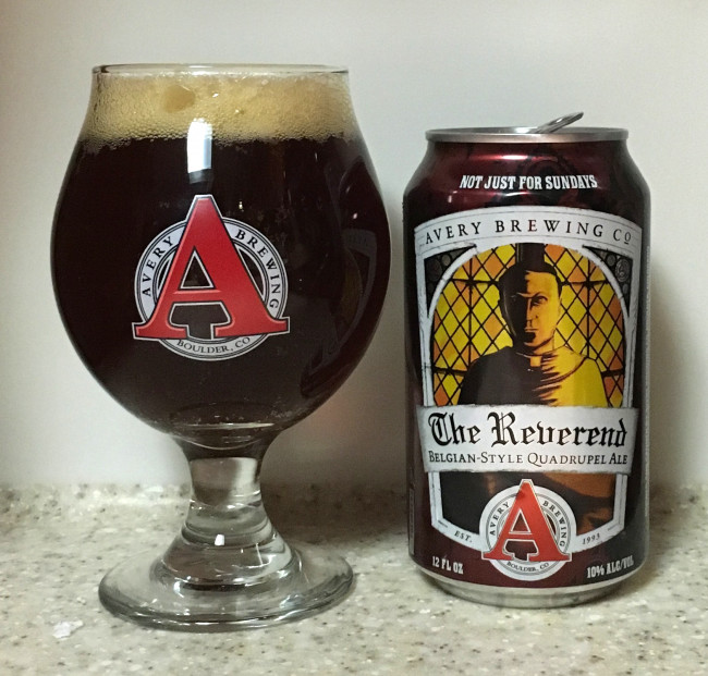 DRINK IT DOWN: The Reverend Quadrupel Ale by Avery Brewing Company
