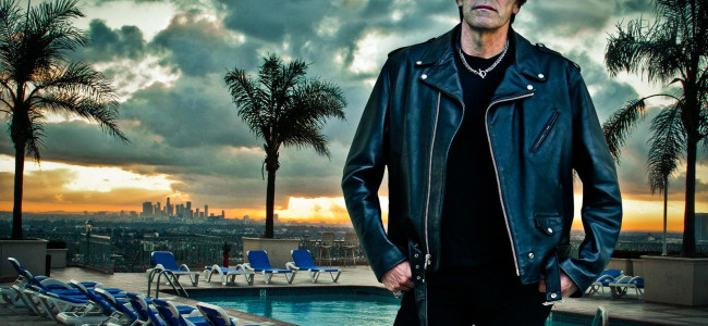Ramones drummer Richie Ramone plays at Stage West in Scranton on May 5
