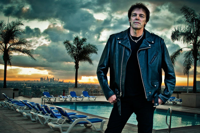 Ramones drummer Richie Ramone performs at Irish Wolf Pub in Scranton on March 19