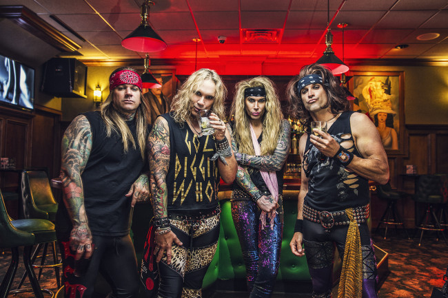 Comedic glam metal band Steel Panther returns to Sherman Theater in Stroudsburg on March 31