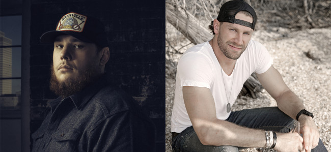 Country singers Luke Combs, Chase Rice, and more play Froggy 101's Guitars & Stars in Wilkes-Barre on May 22
