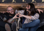 Pottsville groove rockers Crobot play as a duo at World of Brew in Pittston on March 17