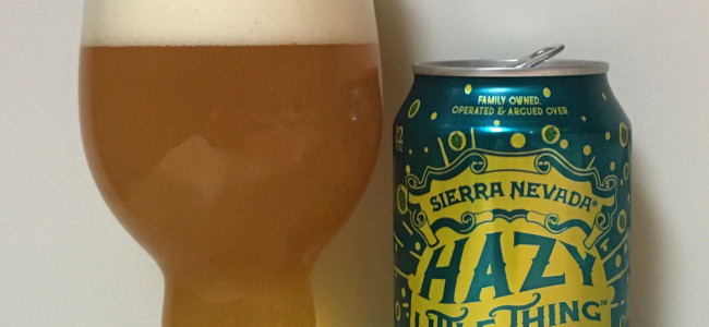 DRINK IT DOWN: Sierra Nevada's Hazy Little Thing is a solid but not perfect New England IPA