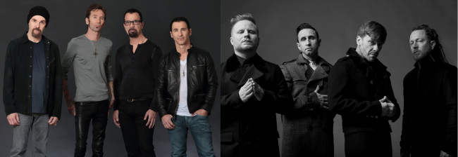 Godsmack and Shinedown co-headline rock show at Montage Mountain in Scranton on Aug. 31