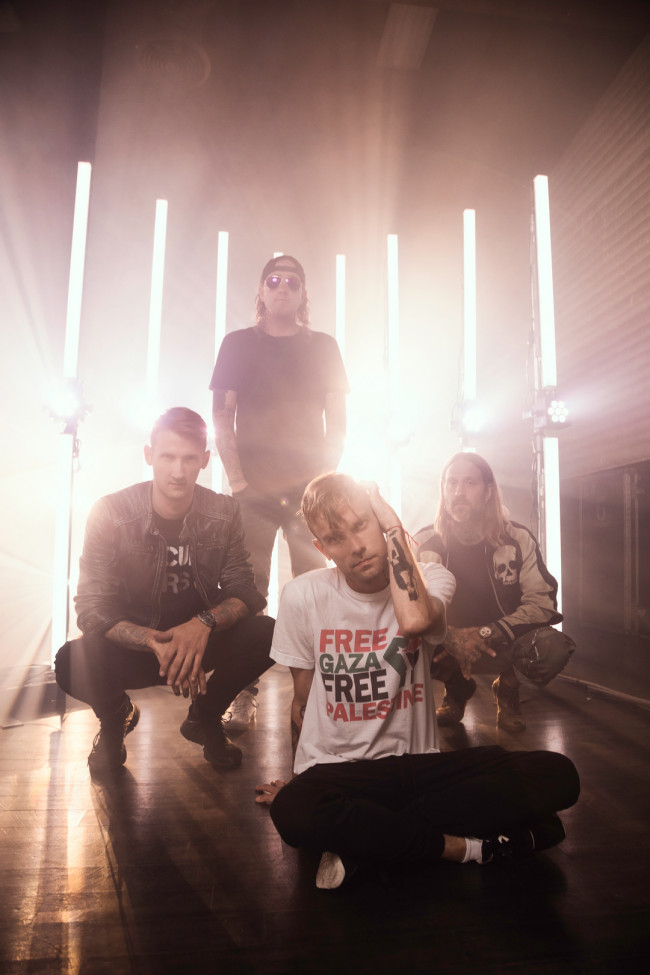 Platinum post-hardcore band The Used returns to Sherman Theater in Stroudsburg on May 4
