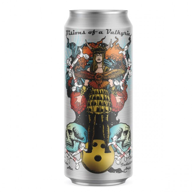 DRINK IT DOWN: Get Visions of a Valkyrie while drinking this juicy, hazy IPA by Burial Beer Co.