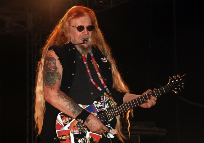 Outlaw country singer David Allan Coe performs at Penn's Peak in Jim Thorpe on July 12