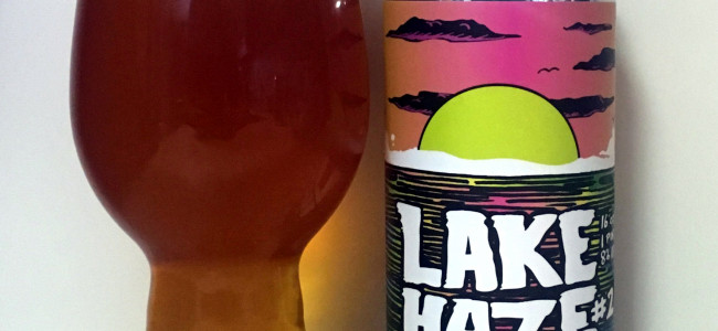 DRINK IT DOWN: Take a dip into Lake Haze #2 by promising Wallenpaupack brewers