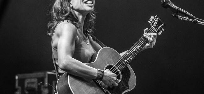PHOTOS: Ani DiFranco with Gracie and Rachel at Kirby Center in Wilkes-Barre, 05/11/18