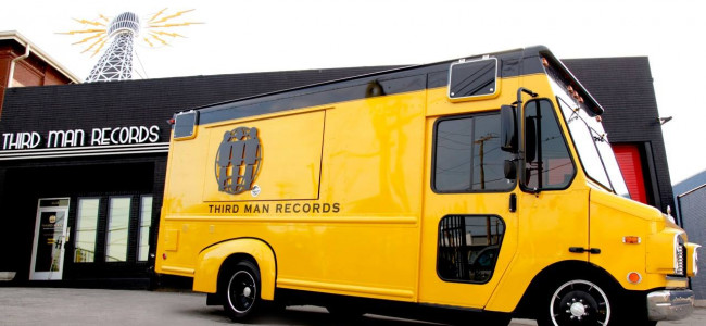 Jack White's Third Man Rolling Record Store stops at Gallery of Sound in Wilkes-Barre on May 28