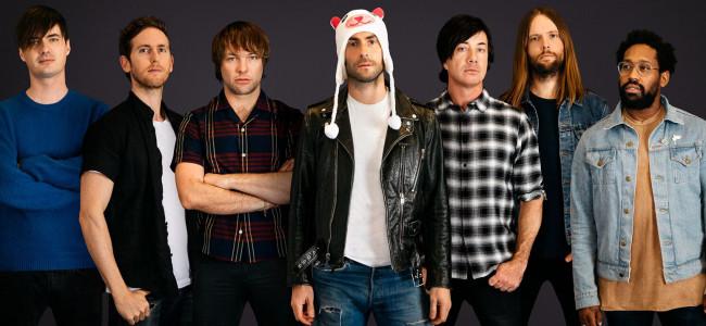 Multi-platinum pop rock hitmakers Maroon 5 play at Hersheypark Stadium on July 14