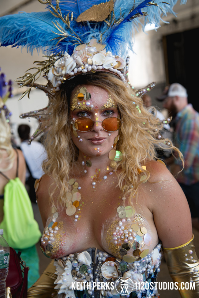 PHOTOS: Coney Island Mermaid Parade in New York City (some images NSFW), 06/16/18