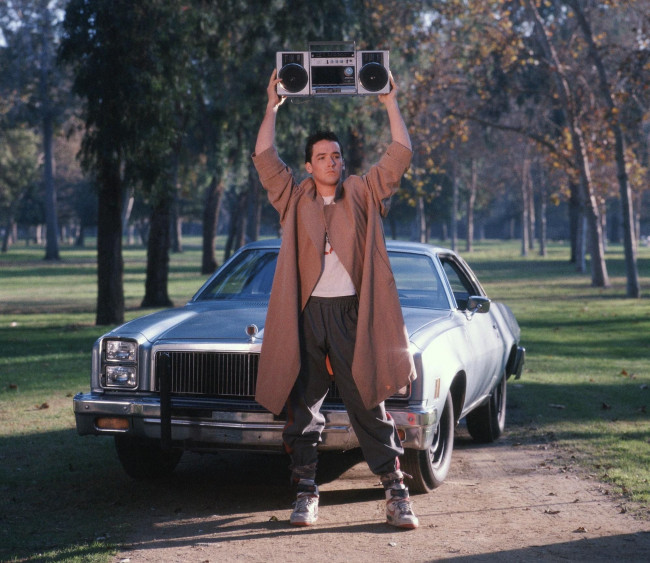 John Cusack answers fan questions live at 'Say Anything' screening at Hershey Theatre on Sept. 19