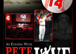 Spend an evening with baseball legend Pete Rose at Kirby Center in Wilkes-Barre on Sept. 15