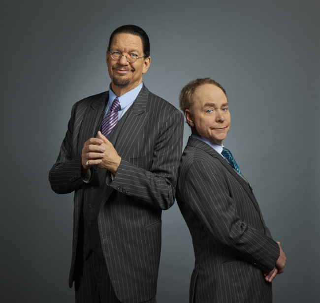 Legendary magicians Penn & Teller will fool Sands Bethlehem Event Center on Dec. 14