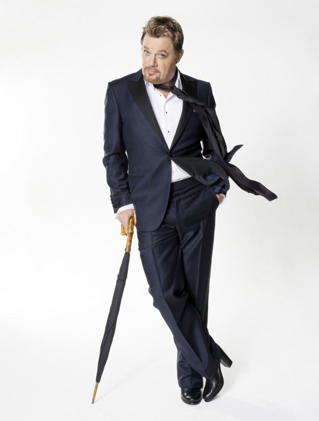Comedian and actor Eddie Izzard performs at Kirby Center in Wilkes-Barre on Oct. 2