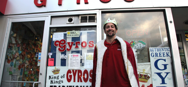 VIDEO INTERVIEW: King of Kings Gyros in Wilkes-Barre on National Gyro Day and small business ownership