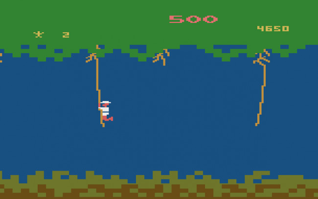 TURN TO CHANNEL 3: Swing by Atari's 'Jungle Hunt,' but don't plan on a long expedition