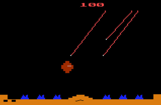 TURN TO CHANNEL 3: Atari's 'Missile Command' is a blocky blast from gaming's past