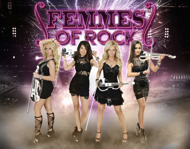 Bella Electric Strings plays Femmes of Rock show at F.M. Kirby Center in Wilkes-Barre on Dec. 12
