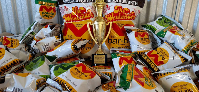 Middleswarth Chip Eating Contest is back for 4th year at Sabatini's in Exeter on Nov. 24