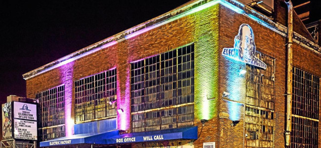 Iconic Philadelphia music venue Electric Factory sold and will be renamed under new ownership