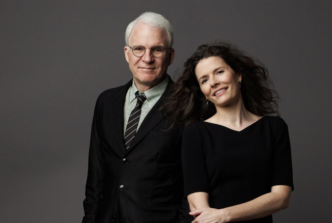 ARCHIVES: Banjos and banter – Steve Martin and Edie Brickell talk 'Love' and bluegrass before Wilkes-Barre performance