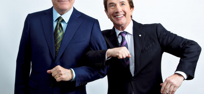 Steve Martin and Martin Short perform in musical comedy show at Mohegan Sun Arena in Wilkes-Barre on Feb. 15