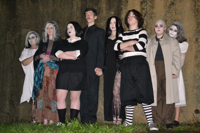 Young cast of 'Addams Family' musical haunts Act Out Theatre in Dunmore Oct. 19-28