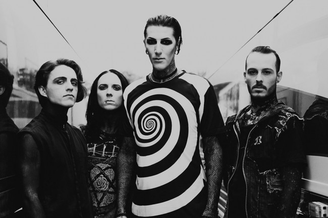Motionless In White plays 1st hometown club show in 9 years at Levels in Scranton on Dec. 22