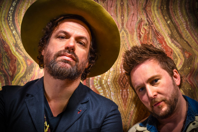 Rusted Root vocalist Michael Glabicki performs as a duo at River Street Jazz Cafe in Plains on March 13