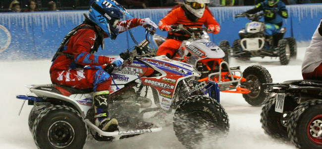 World Championship Ice Racing rides through Mohegan Sun Arena in Wilkes-Barre on Jan. 25