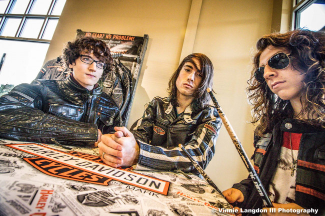 Young punk trio Blind Choice plays 100th show at V-Spot in Scranton on Feb. 15