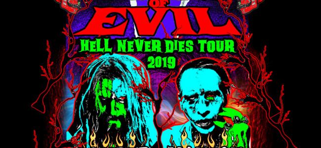 'Twins of Evil' Rob Zombie and Marilyn Manson bring 'Hell' to PPL Center in Allentown on July 10