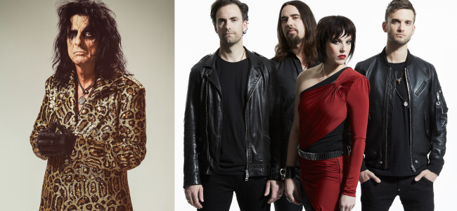 Alice Cooper and Halestorm co-headline Allentown and Camden shows with Scranton's Motionless In White on July 17 and Aug. 16