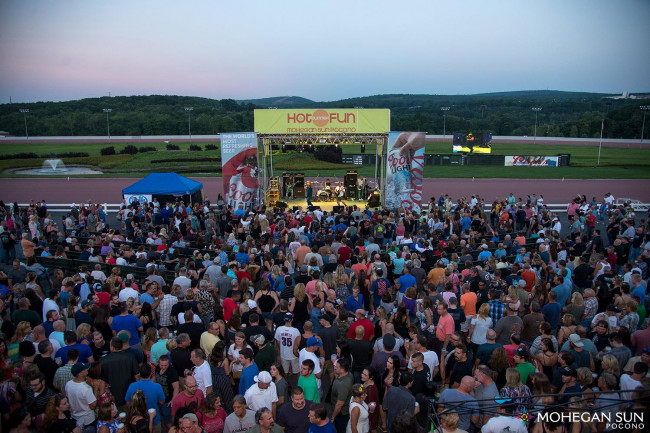 Lineup of free Party on the Patio summer concerts extended at Mohegan Sun Pocono in Wilkes-Barre