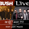 Live and Bush celebrate 25th anniversary of iconic albums in Allentown, Holmdel, and Bethel this summer