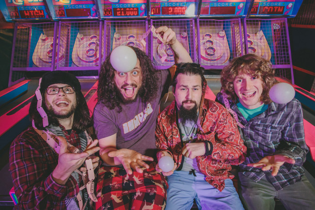 Peach Fest and Camp Bisco alum Pigeons Playing Ping Pong funk up Sherman Theater in Stroudsburg on March 29