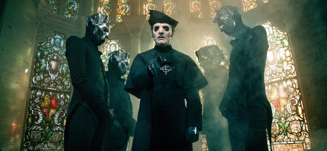Theatrical metal band Ghost takes 'Ultimate' arena tour to Giant Center in Hershey on Oct. 24