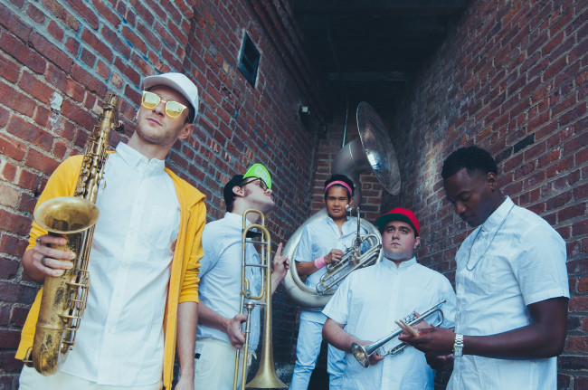 NYC brass funk band Lucky Chops headlines free Fine Arts Fiesta in Wilkes-Barre on May 18