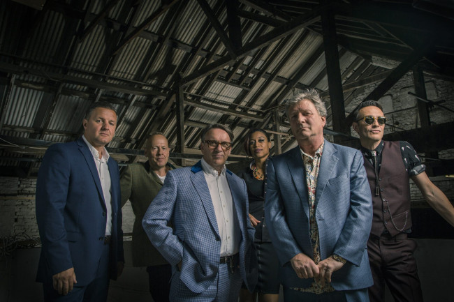 British new wave band Squeeze plays with Marshall Crenshaw at Kirby Center in Wilkes-Barre on Aug. 19