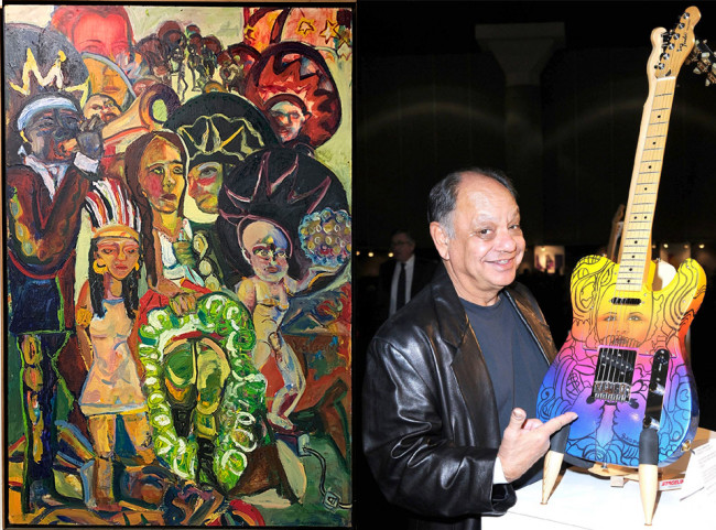 Misericordia in Dallas displays Mexican-American art with Cheech Marin Chicano guitars June 28-Aug. 9