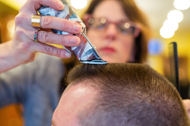 Support NEPA cancer patients with buzz cuts at Mick's Buzz Off in Honesdale on June 29
