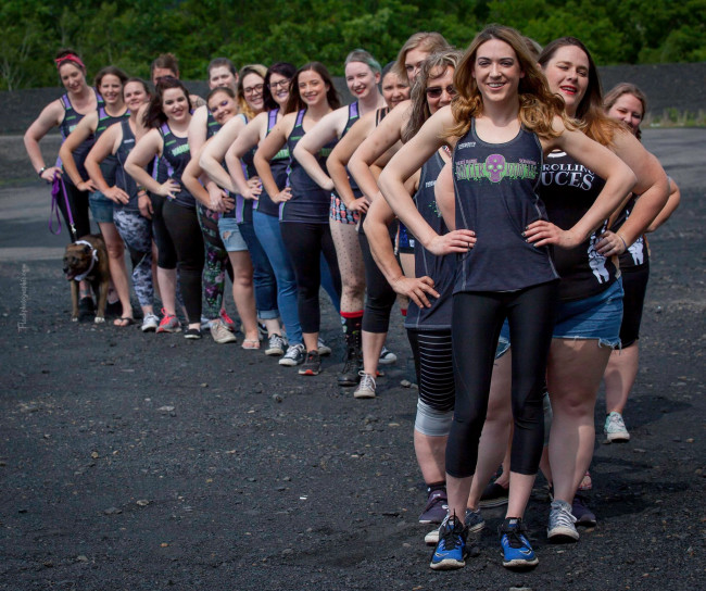 Wilkes-Barre/Scranton Roller Derby team travels to Ireland to take on Dublin Roller Derby