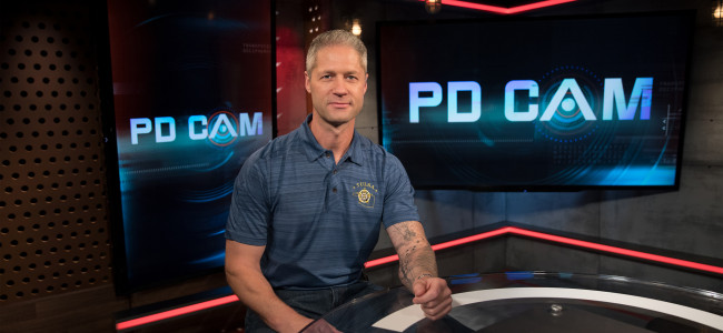 A&E's 'Live PD' host Sean Larkin talks law enforcement at Kirby Center in Wilkes-Barre on Nov. 7