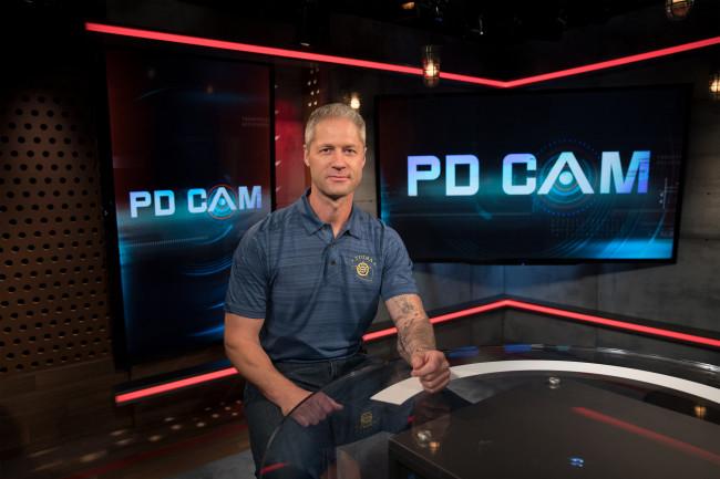 A&E's 'Live PD' host Sean Larkin talks law enforcement at Kirby Center in Wilkes-Barre on Nov. 7