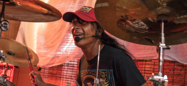 Anthrax singer Joey Belladonna brings his band Chief Big Way to Finnegan's in Scranton on July 20