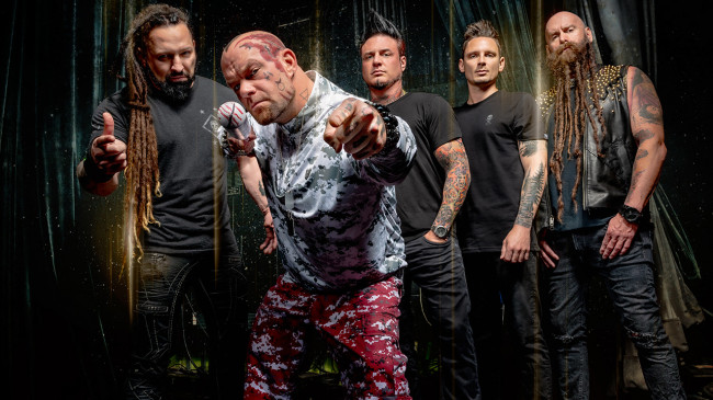 Five Finger Death Punch and Three Days Grace play at PPL Center in Allentown on Dec. 3