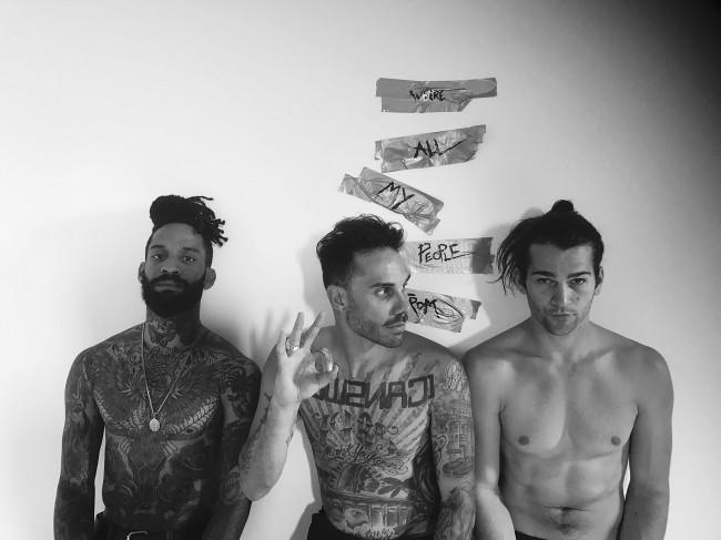 Hip-hop punk band Fever 333 performs at F.M. Kirby Center in Wilkes-Barre on Sept. 27