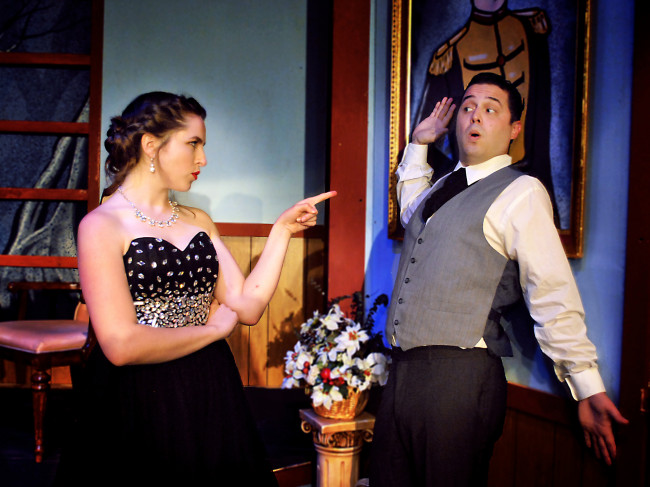 Solve a murder during 'Murder Me Always' at Music Box Dinner Playhouse in Swoyersville July 26-28
